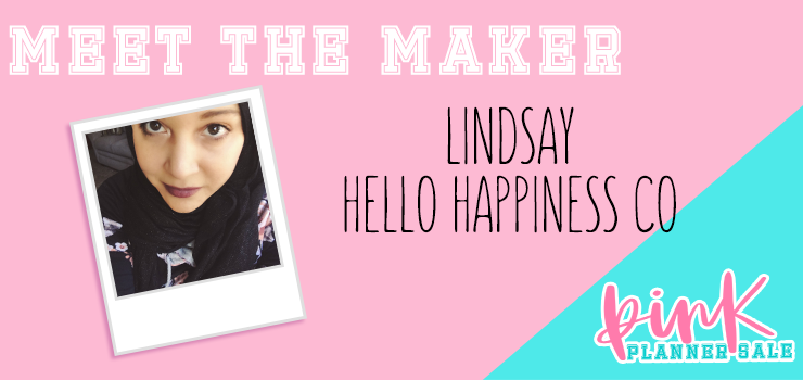 meet the maker - lindsay of hello happiness co