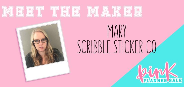 meet the maker scribble sticker co